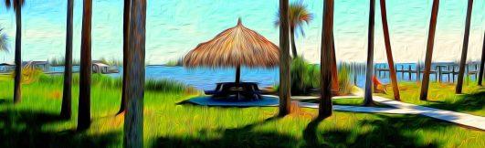 Tiki picnic